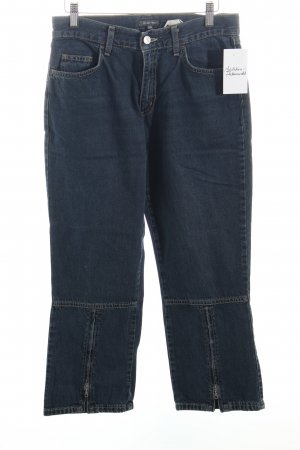 Street One Straight-Leg Jeans dunkelblau Casual-Look