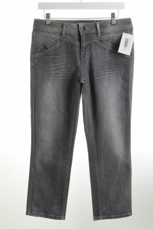 Street One Straight-Leg Jeans grau Casual-Look