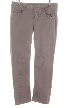 Street One Straight-Leg Jeans grüngrau Casual-Look