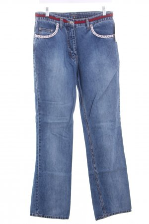 Street One Straight-Leg Jeans hellblau Casual-Look