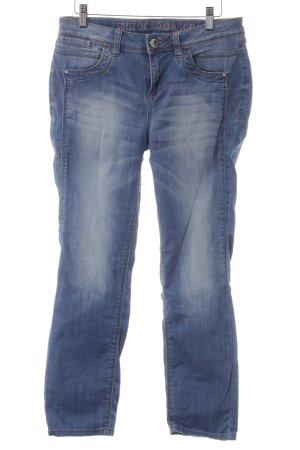 Street One Straight-Leg Jeans kornblumenblau Casual-Look