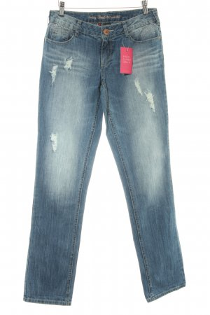 Street One Stretch Jeans blau Casual-Look