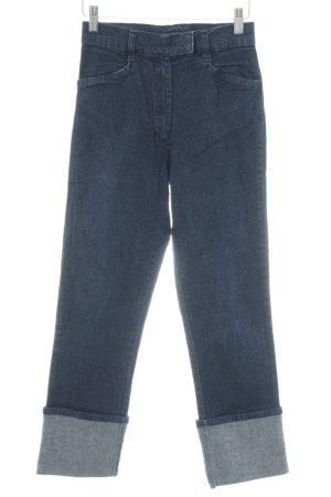 Street One Jeans stretch bleu foncé moucheté style décontracté