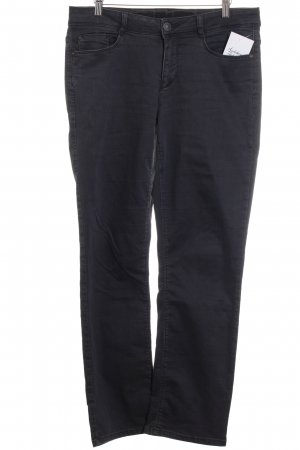 Street One Stretch Jeans dunkelgrau Casual-Look