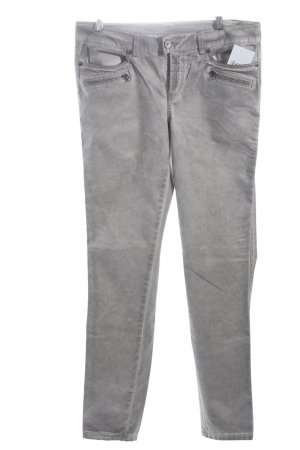 Street One Stretch Jeans silberfarben Casual-Look