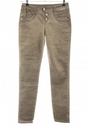 Street One Stretchhose bronzefarben Casual-Look