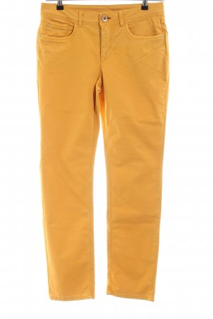 Street One Stretchhose blassgelb Casual-Look