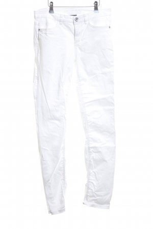 Street One Stretch Trousers white street-fashion look