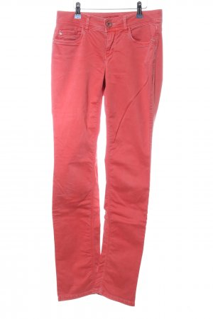 Street One Stretchhose rot Casual-Look