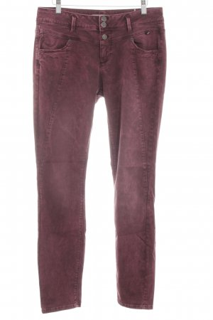 Street One Stretchhose lila Casual-Look
