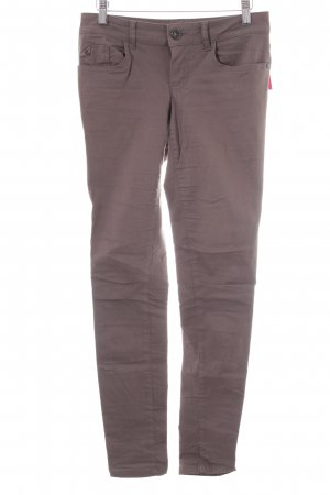 Street One Stretchhose braun Casual-Look