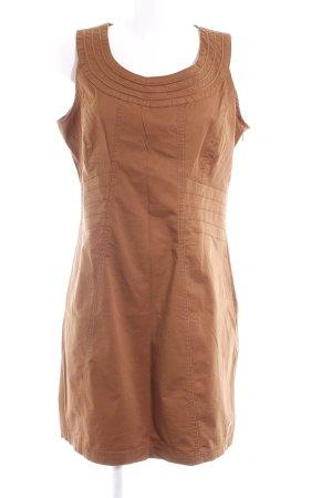 Street One Vestido elástico color bronce estilo «business»