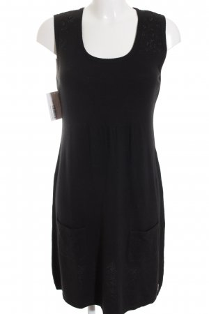 Street One Stretchkleid schwarz Casual-Look