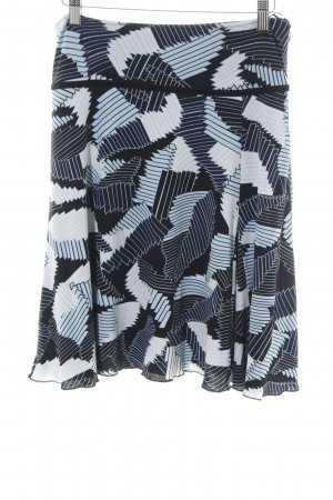 Street One Stretch Skirt abstract pattern casual look
