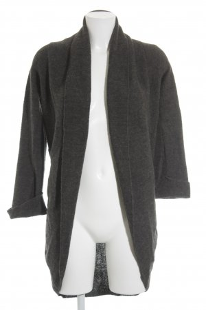 Street One Strick Cardigan anthrazit Casual-Look