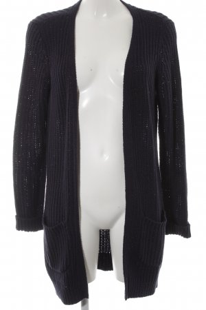 Street One Strick Cardigan blau Casual-Look