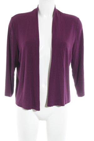 Street One Strick Cardigan violett Casual-Look