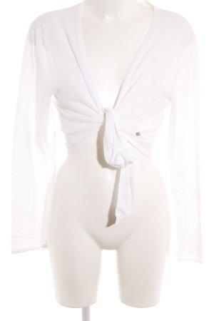 Street One Bolero lavorato a maglia bianco stile classico