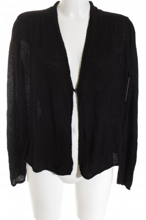 Street One Strickjacke schwarz Casual-Look