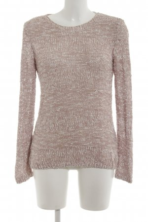 Street One Strickpullover pink-weiß Casual-Look