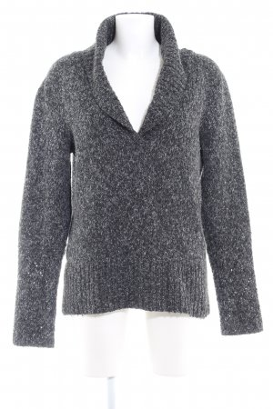 Street One Strickpullover taupe meliert Casual-Look