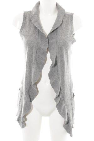 Street One Gilet tricoté gris clair style décontracté