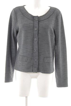 Street One Smanicato lavorato a maglia grigio scuro modello web stile casual