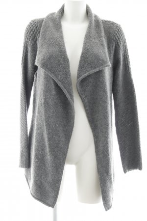 Street One Knitted Vest grey loosely knitted pattern casual look