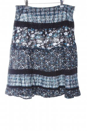 Street One Broomstick Skirt blue casual look