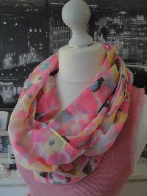 Street One * Süßer Sommer Loopschal * pink-rosa-gelb * NEU