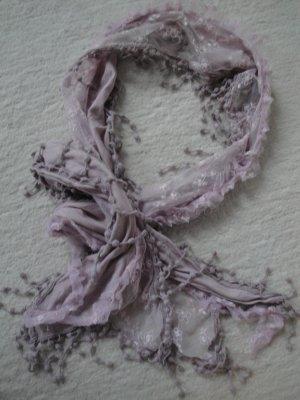 Street One * Süßer Sommer Schal Tuch so Shabby * rosa Spitze *