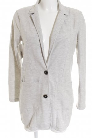 Street One Sweat Blazer light grey casual look