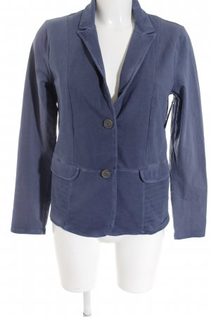 Street One Sweatblazer stahlblau Brit-Look