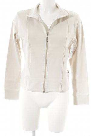 Street One Sweatjacke creme Casual-Look