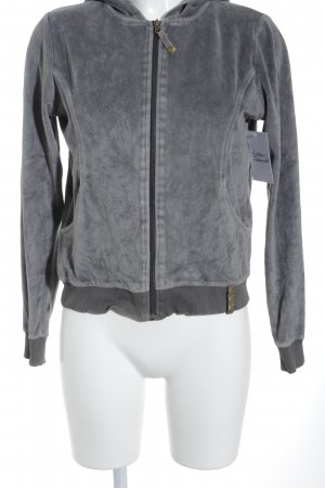 Street One Sweatjacke dunkelgrau Casual-Look