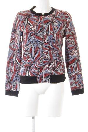 Street One Sweat Jacket floral pattern casual look