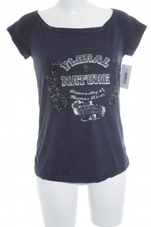 Street One T-Shirt dunkelblau Casual-Look