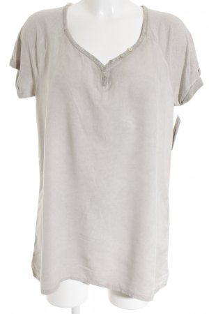 Street One T-Shirt graubraun Casual-Look