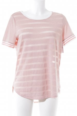 Street One T-Shirt rosé-weiß Casual-Look