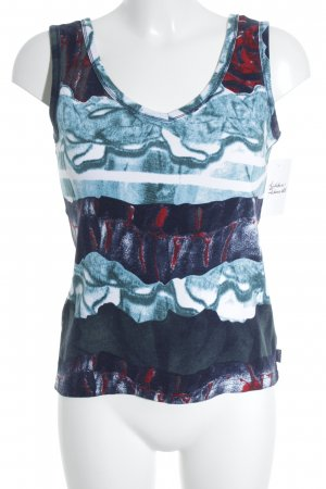 Street One Tanktop abstraktes Muster Casual-Look