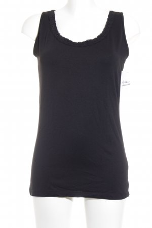 Street One Tanktop schwarz Casual-Look