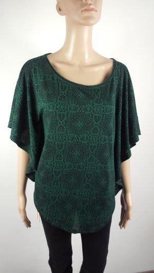 Street One Waterval shirt zwart-bos Groen