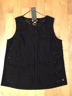 Street One Lace Top black cotton