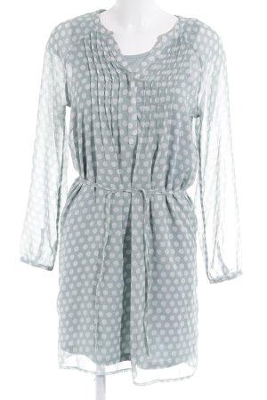 Street One Tunic Dress mint spot pattern casual look