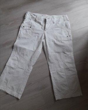 Street One Pantalon 3/4 blanc