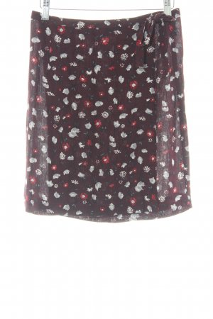 Street One Wraparound Skirt flower pattern minimalist style
