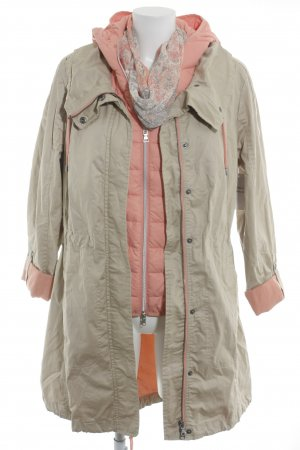 Street One Windbreaker beige-dusky pink casual look