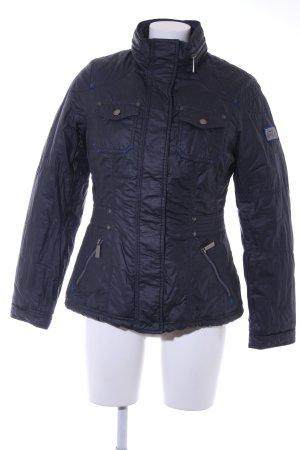 Street One Winterjacke schwarz-blau Street-Fashion-Look