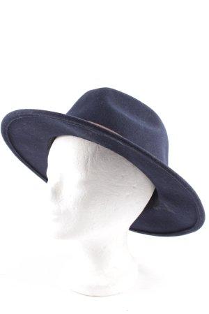 Street One Cappello di lana blu scuro stile boyfriend