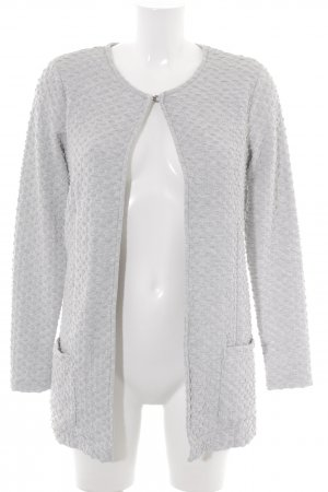 Street One Veste en laine gris clair style simple